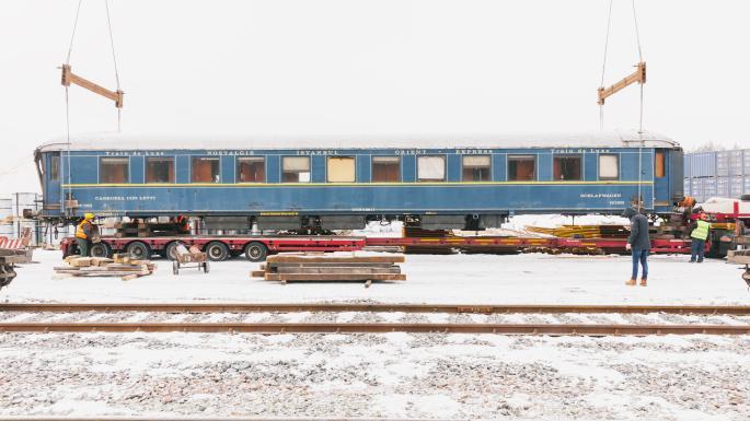 法國國鐵係波蘭邊陲發現東方快車「殘骸」?
