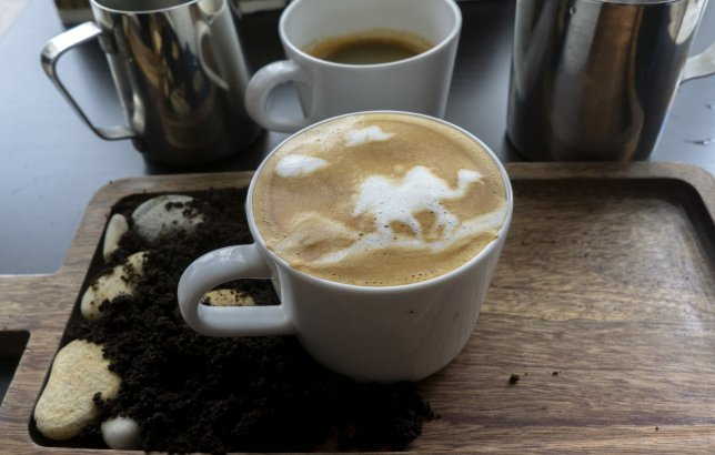 蘇格蘭已經玩到駝奶咖啡