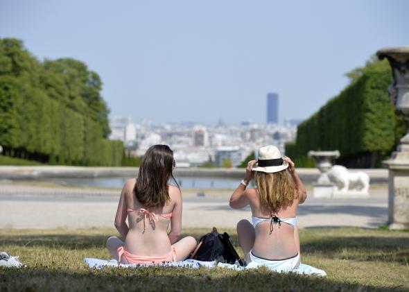 歐洲面臨熱浪襲擊 氣溫可能高達40度