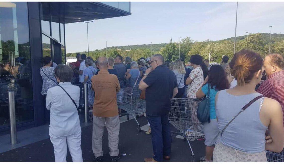 超市有煲大平賣 法國人瘋狂搶購