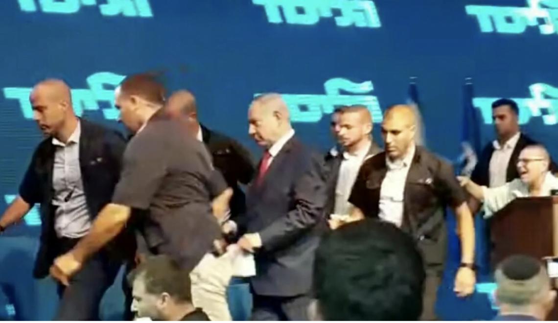 以色列總理擔心走避影片 導致敗選?
