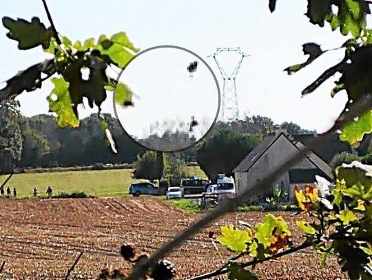 比利時F16法國出事 其中一位機師彈出卻被高壓電線纏住?