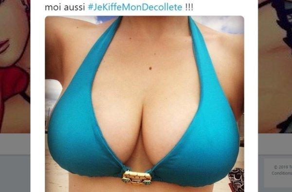 性別歧視搞到法女推出「我愛騷事業線」 hashtag