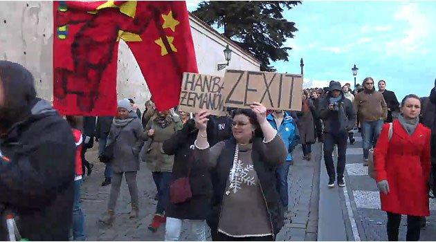 不滿布拉格不認同一個契丹割席 共共超限戰報復捷克全國