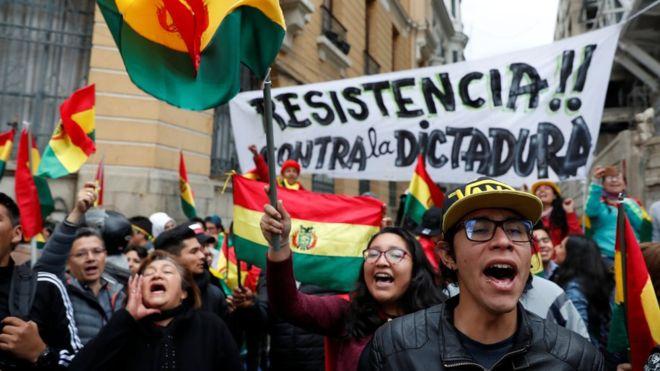 面對示威浪潮 玻利維亞左膠總統宣布辭職