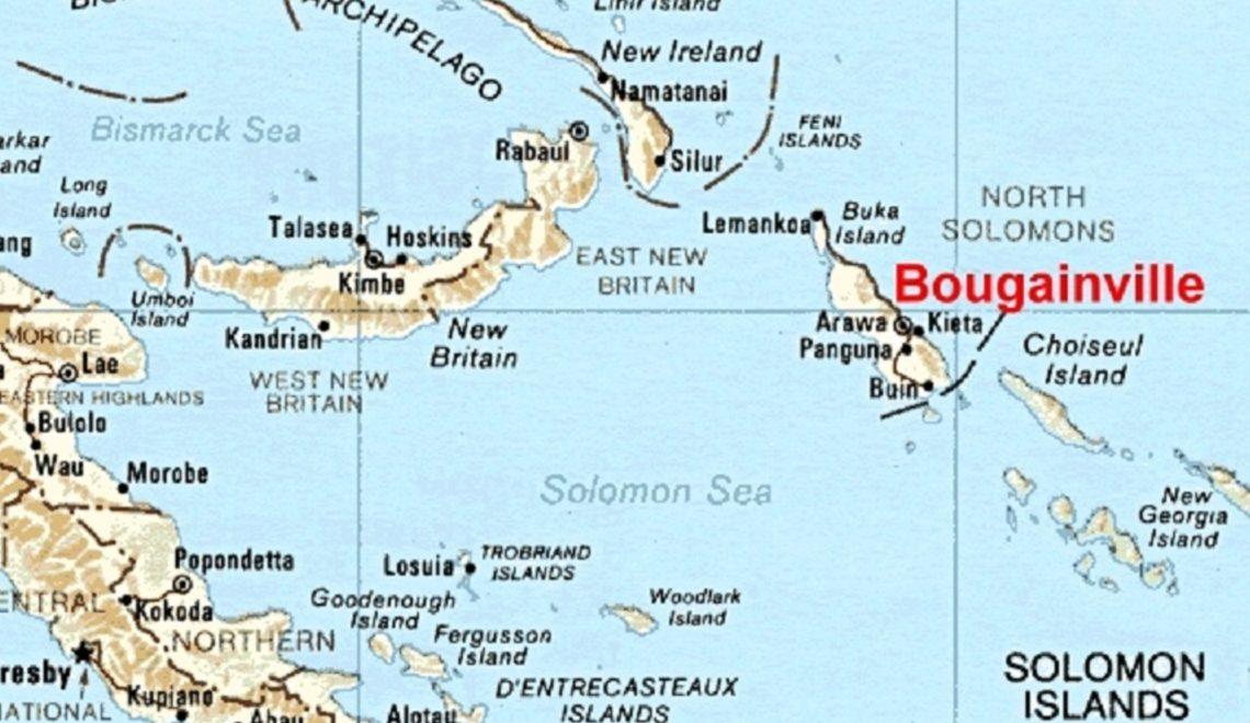 布甘維島通過公投 將脫離巴布亞新畿內亞獨立