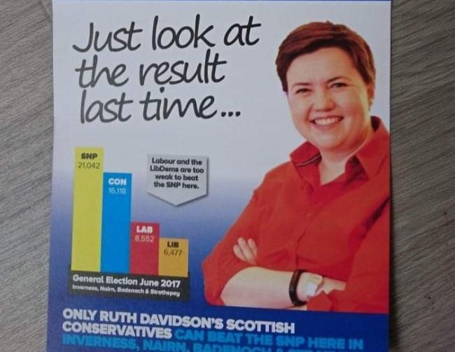 民調顯示 蘇格蘭保守黨將全軍覆沒