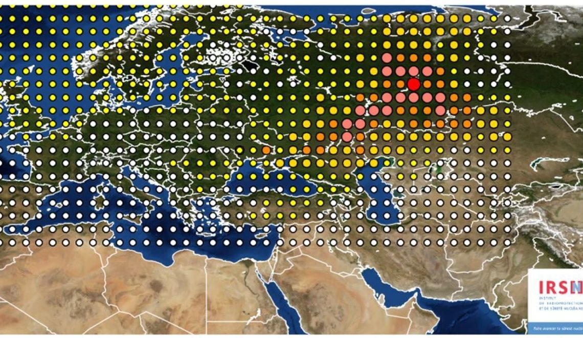 德專家指 2017年核子雲霧幾乎篤定來自露西亞核爆