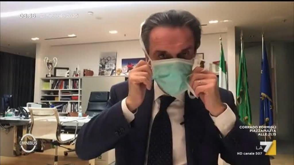 米蘭大區政府主席因下屬確診武漢肺炎 要自我隔離