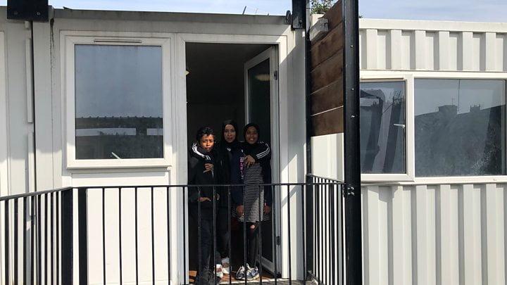 英地方貨櫃劏房變公屋 惹公憤