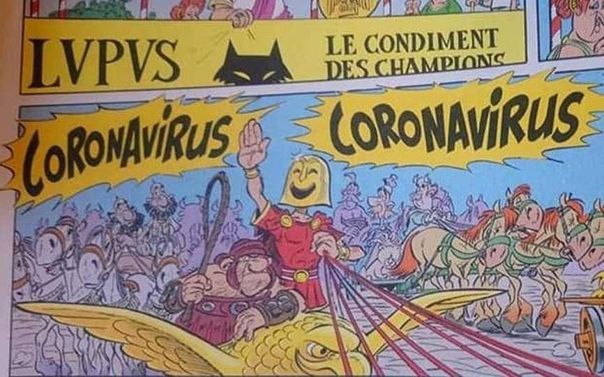 法國人發現 自己漫畫預言武漢肺炎係義大利大爆發?