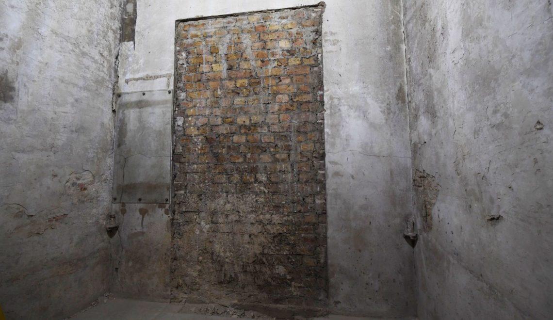 西敏宮地底發現古代門廊