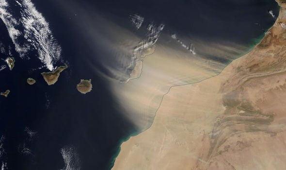 沙塵暴襲西班牙離島 歐洲旅客被困
