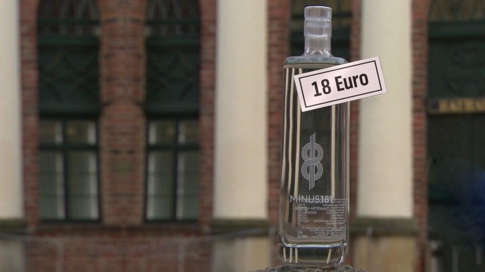 德國不知名地方地下水 竟然叫賣18歐一支?