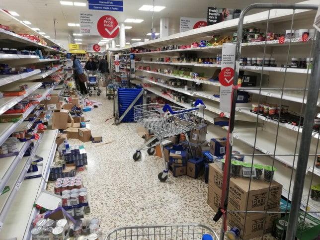英國超市面對搶購 可以急 請數萬工人