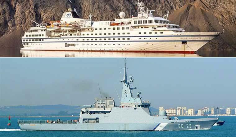 委內瑞拉海軍截查破冰船 變自己軍艦沈船?
