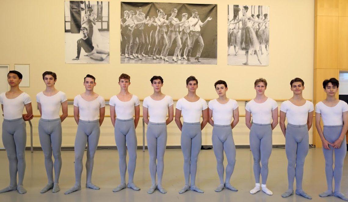加拿大國立芭蕾舞學校首次出現男多女少