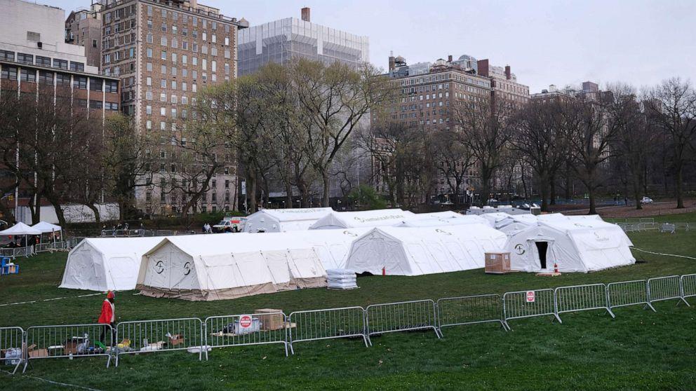 紐約市警告可能要公園亂葬武漢肺炎死者
