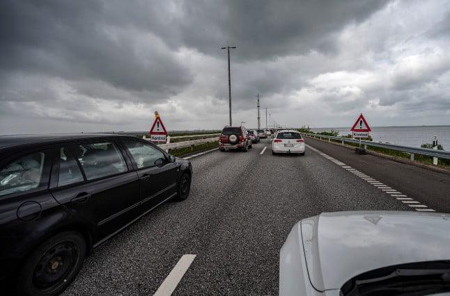 聖母升天長假結束 丹麥人返國車龍長達6公里