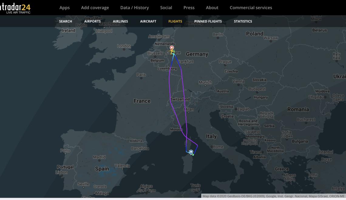 義大利未開機場 Eurowings 就咁飛落薩丁島 終被迫折返出發地
