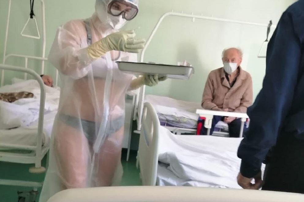 夏日為露西亞帶來比堅尼上直接PPE護士