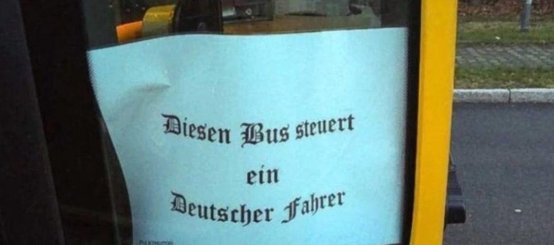 德國車長表示德國人揸返巴士 都被停職調查?