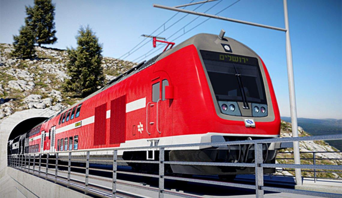 拖足兩年 耶路撒冷高速鐵路終於啟用