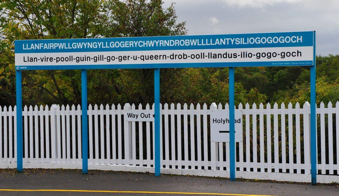 英國最長地名嘅火車站 因月台太短要關閉