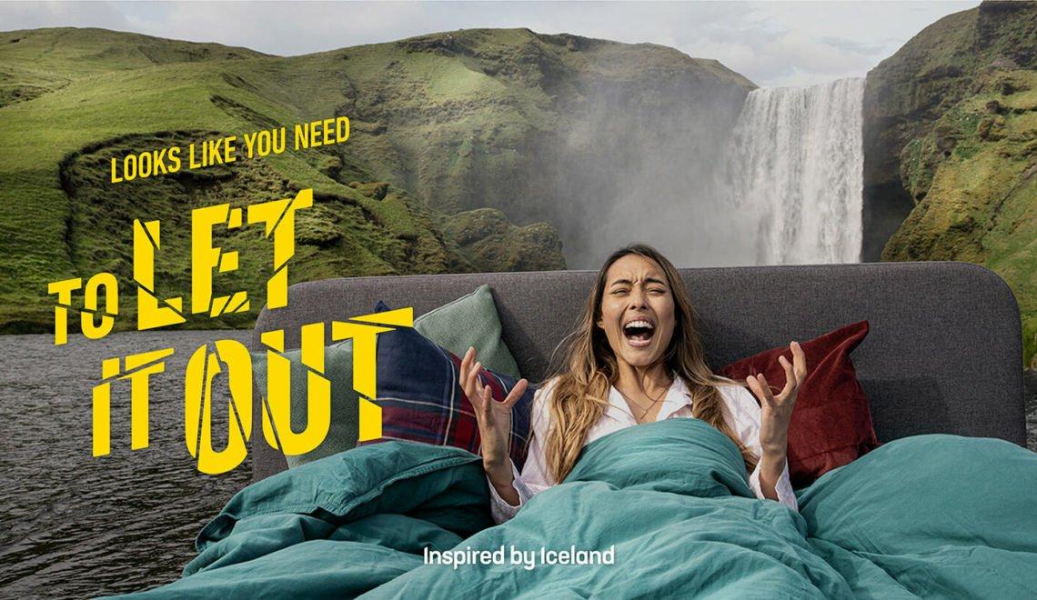冰島旅遊局仲出到廣告 收集全地球尖叫幫你減壓?