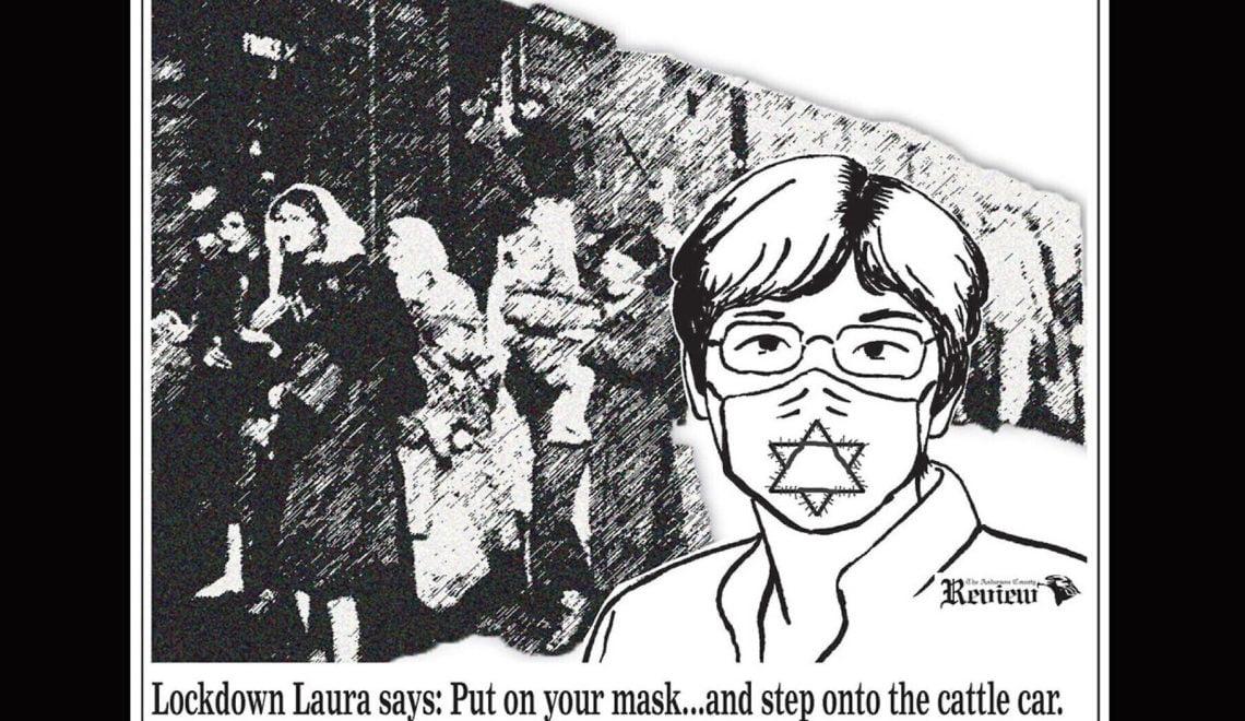 反口罩漫畫扯上猶太大屠殺 人人割席