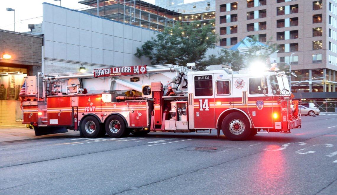 紐約消防部禁止用水砲針對人群