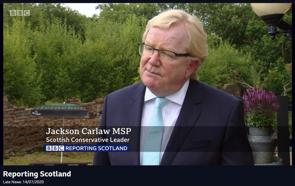 48%人唔識 蘇格蘭保守黨領袖被迫辭職