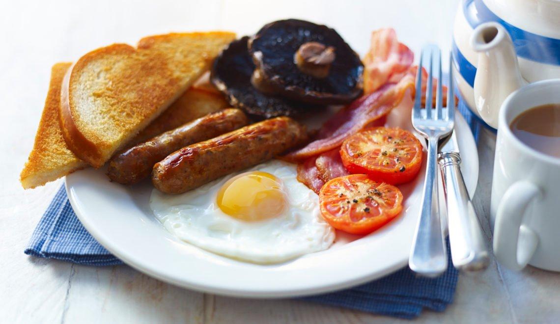 17%英國後生未食過完整英式早餐