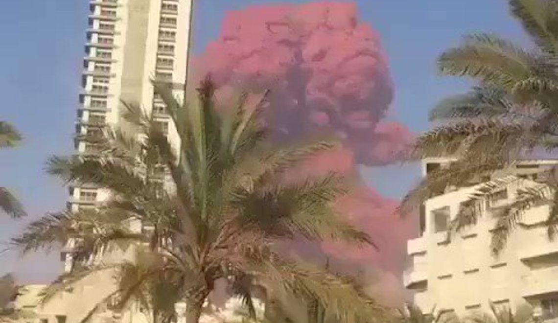 前總理被殺案判決在即 黎巴嫩首都港口區驚現巨爆