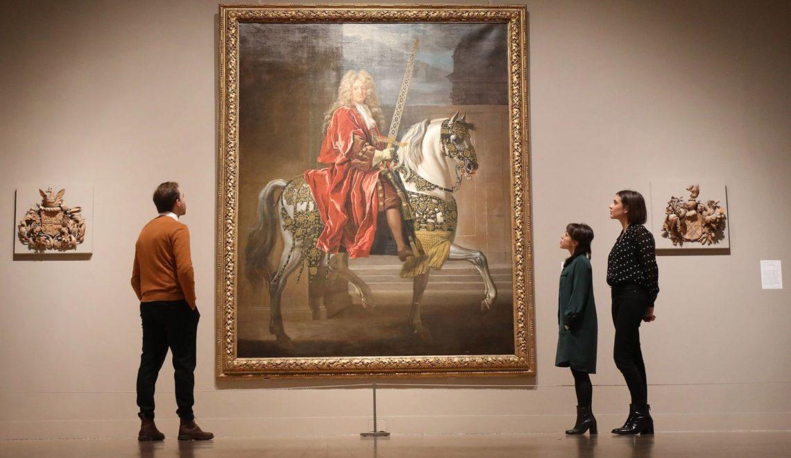 法國中央銀行將倫敦市長畫像當路易十四「大太子」掛咗成百年
