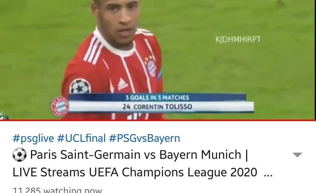 歐聯決賽有人放3年前seed 上萬人中招