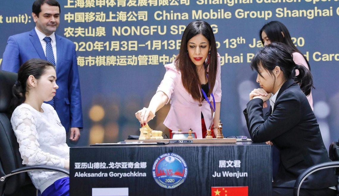 伊朗A級國際象棋裁判變節 全因契丹作賽時露出頭髮