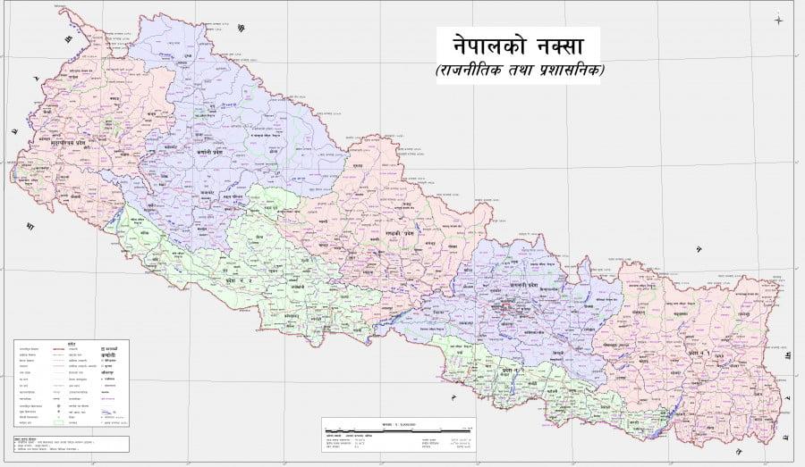 尼泊爾同印度早前一度爆發「地圖戰爭」