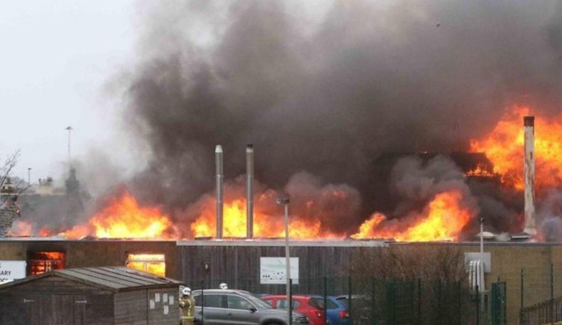 學校大火 蘇格蘭區議會要禁用舊 laptop?
