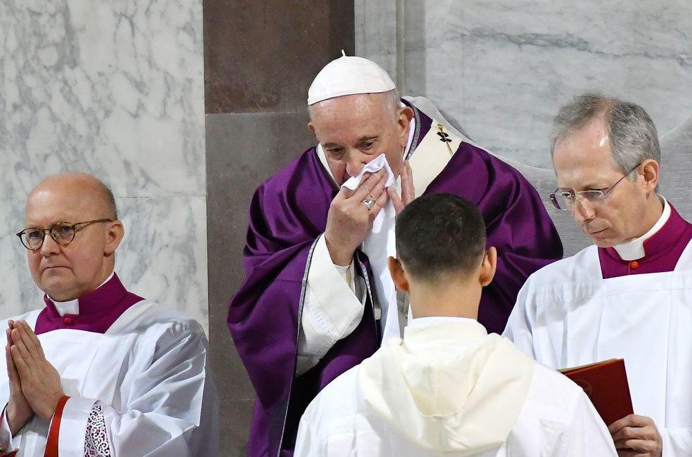 教宗:八卦比武漢肺炎更糟糕