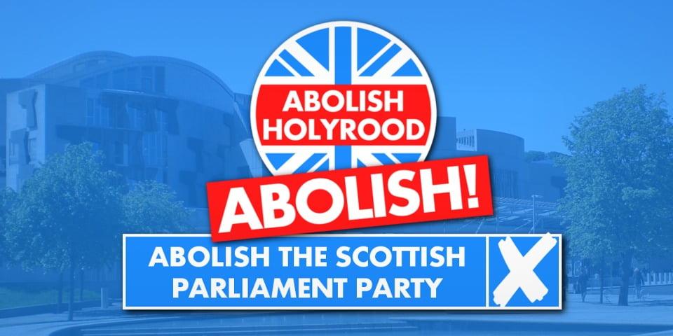 「廢除蘇格蘭議會黨」明年參選?