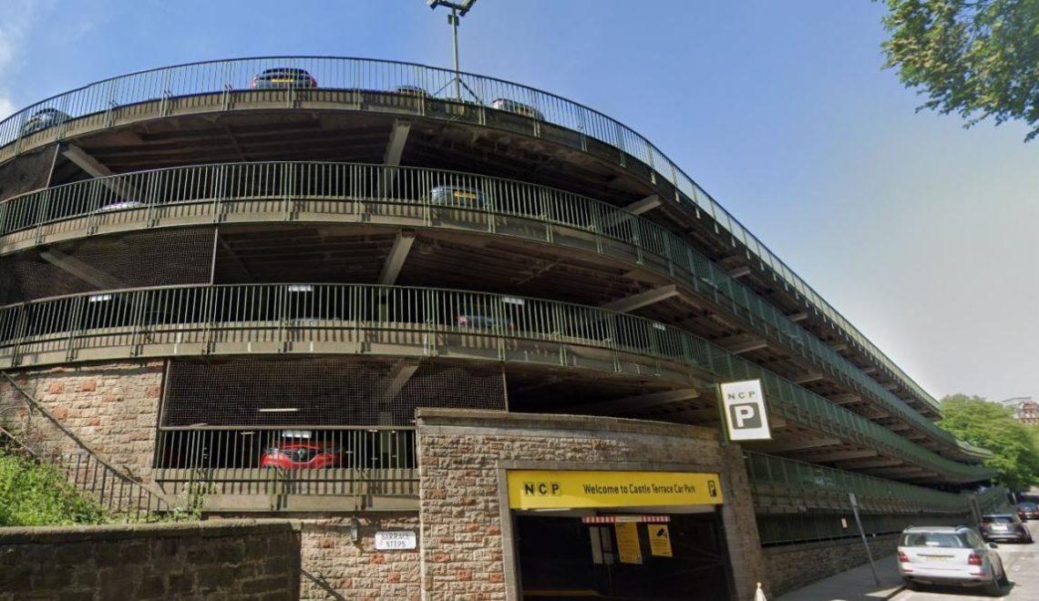 愛丁堡粗獷主義停車場 有得留低