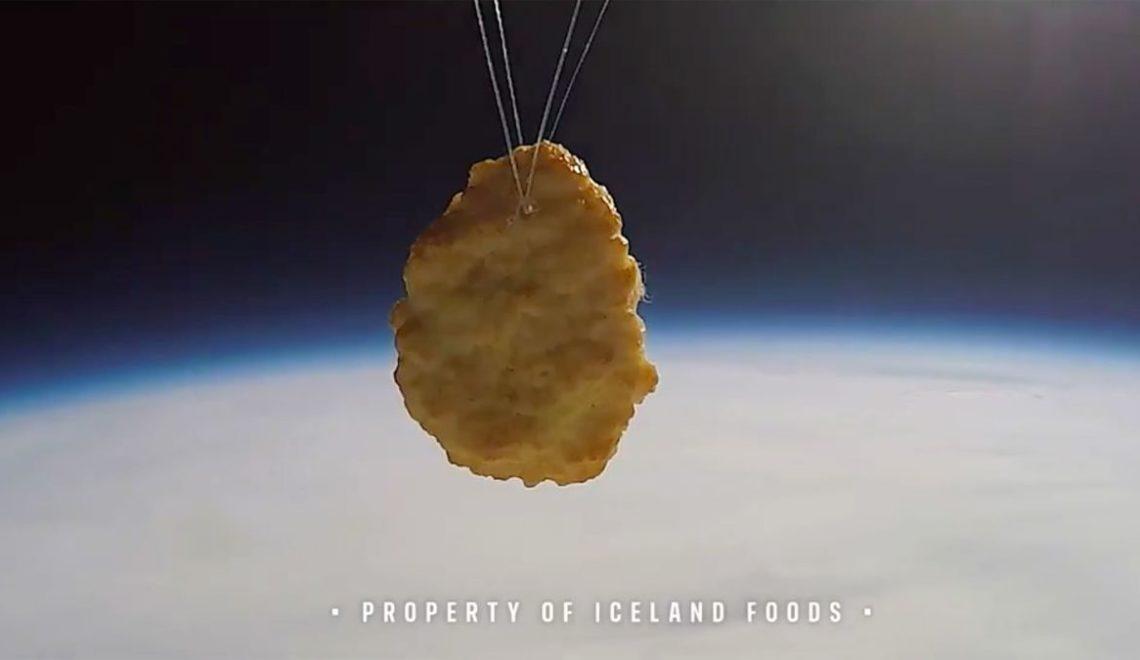 I 字頭超市將麥樂雞打上太空 慶祝50週年
