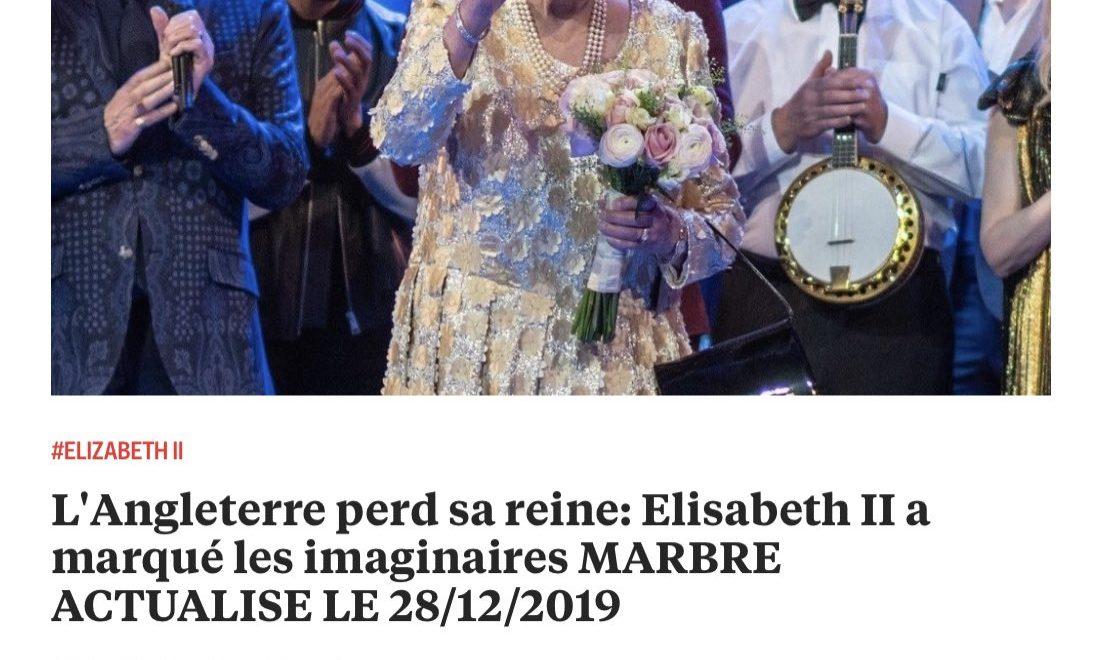 法政府公營新聞網 RFI 公然出英女皇「駕崩訃告」