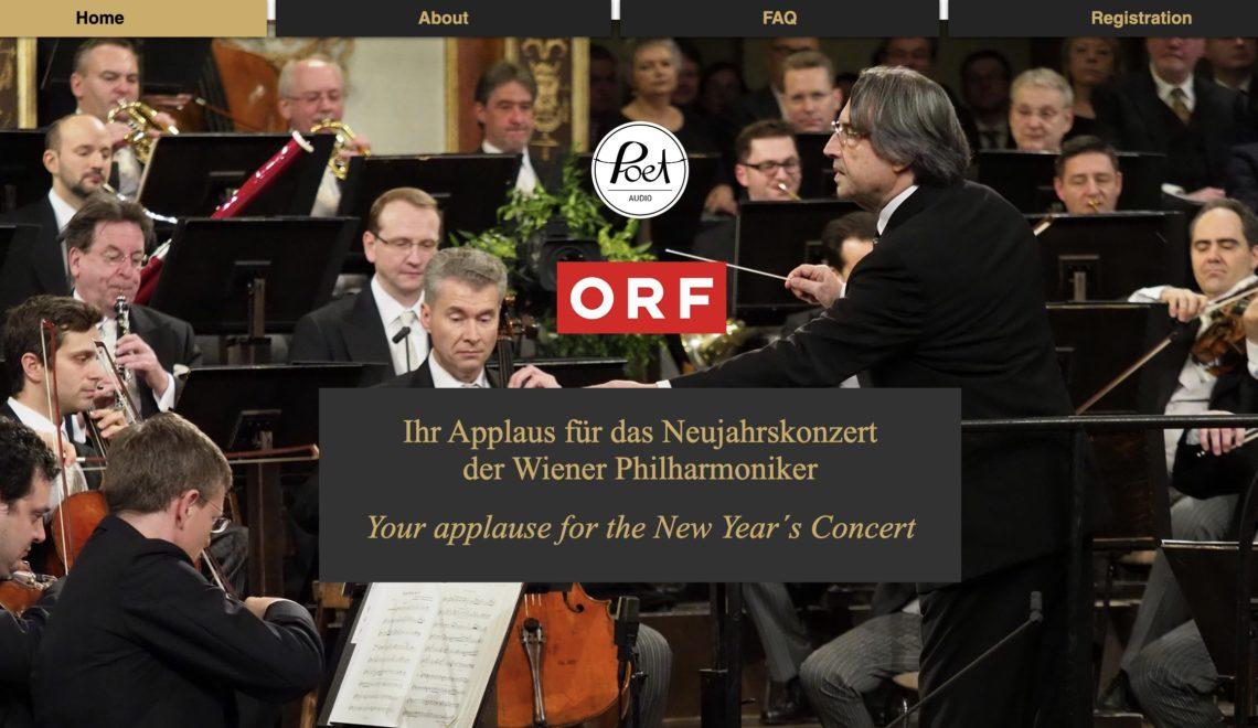 維也納新年音樂會無觀眾 網上搜集掌聲現場播