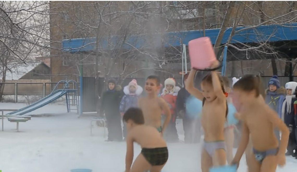 西伯利亞細路零下20度 冰水淋頭訓練唔怕凍