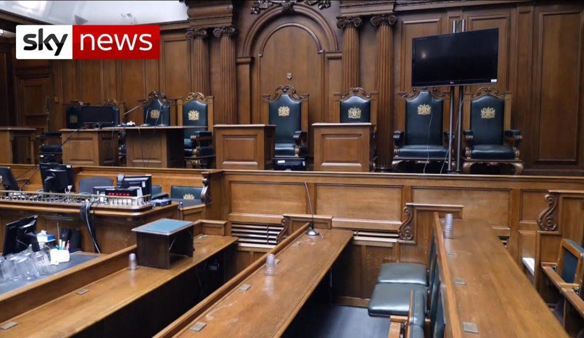 武漢肺炎癱瘓英國法院及獄政系統