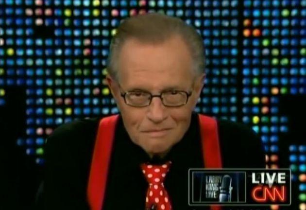 Larry King 因武漢肺炎入院
