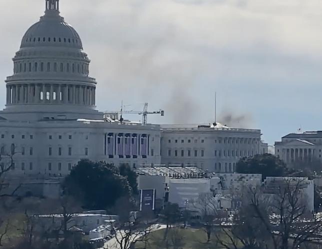 【突發】美國國會因為「外部保安威脅」再度封閉