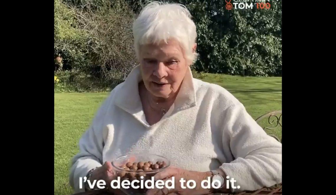 紀念老兵 Judi Dench 都玩100日食100粒麥提莎?